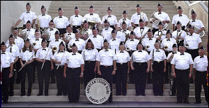 2005 Band - on the steps of the Liberty Memorial
